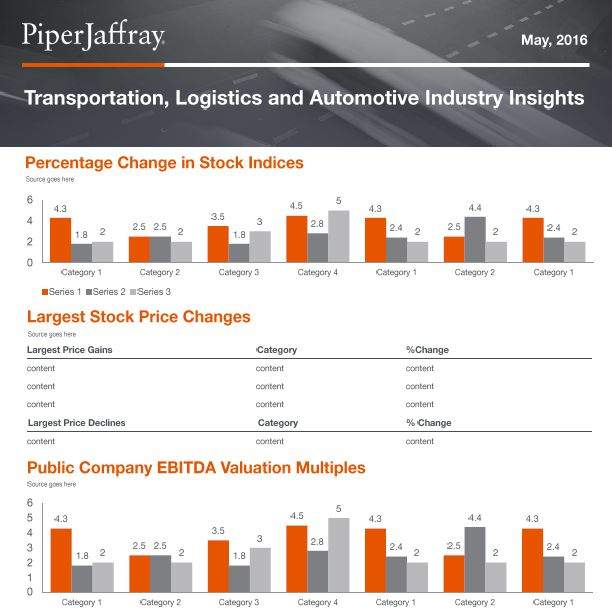 Transportation, Logistics and Automotive Industry Insights